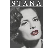 Stana Katic as Marilyn Monroe Photographic Print