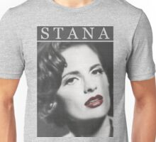 Stana Katic as Marilyn Monroe Unisex T-Shirt