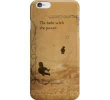 The Labyrinth inspired design (Toby). iPhone Case/Skin