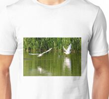 """Start 2"" , Black-headed gull ( Chroicocephalus ridibundus ) Mewa śmieszka Unisex T-Shirt"