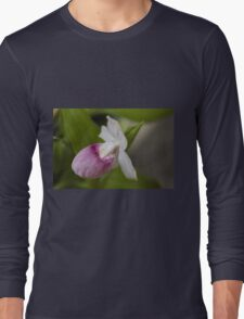 orchid in the garden Long Sleeve T-Shirt