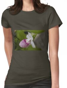 orchid in the garden Womens Fitted T-Shirt
