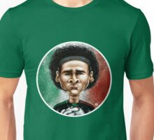 Footballicature : Guillermo Ochoa Unisex T-Shirt