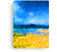 View of the Island Canvas Print