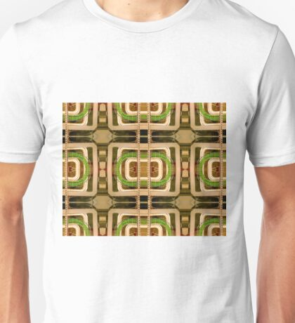 wire matrix collage Unisex T-Shirt