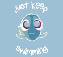 Keep swimming Kids Tee
