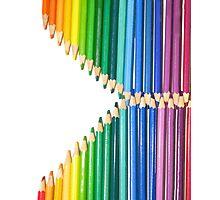 Pencil Zip Photographic Print