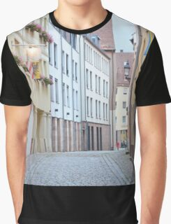 Quiet Empty Street Graphic T-Shirt