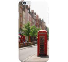 London Telephone Booth iPhone Case/Skin