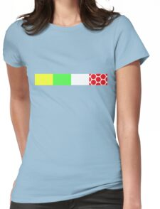 Bike Stripes Tour de France Jerseys Womens Fitted T-Shirt