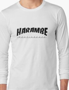 R.I.P Harambe Long Sleeve T-Shirt