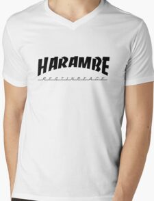 R.I.P Harambe Mens V-Neck T-Shirt