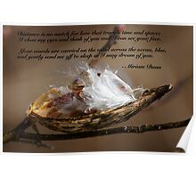 Milkweed and Poetry Poster