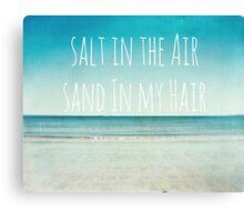 Salt in the Air Canvas Print