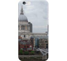 St. Paul's and Millenium Bridge 2 iPhone Case/Skin