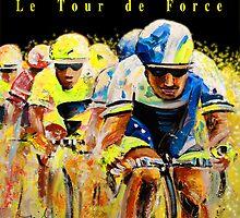 Le Tour de Force Tote by Goodaboom
