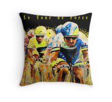 Le Tour de Force Tote Throw Pillow
