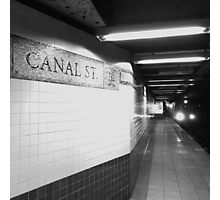 Canal Street Photographic Print