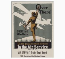 Vintage poster - Air Service Trade Test Board Kids Tee