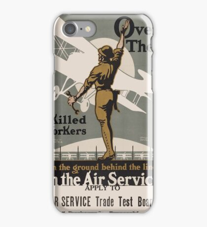 Vintage poster - Air Service Trade Test Board iPhone Case/Skin