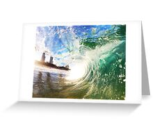 Gold Coast Barrel Greeting Card