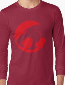 Thundercats movie cartoon logo Long Sleeve T-Shirt
