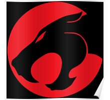 Thundercats movie cartoon logo Poster