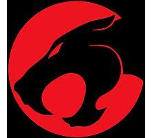 Thundercats movie cartoon logo Photographic Print