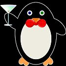 Happy Hour Penguin by DrunkTuxedo