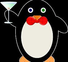 Happy Hour Penguin by DrunkTuxedo