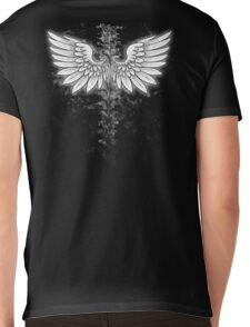 Winged backbone Mens V-Neck T-Shirt