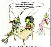 Cricket Pick-Up Lines by Rick  London