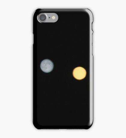 Union Square Lights and Supermoon iPhone Case/Skin