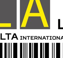 Destination Malta/Luqa Airport Sticker