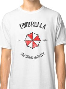 Umbrella Training Facility Vintage Resident Evil Classic T-Shirt