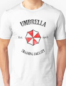 Umbrella Training Facility Vintage Resident Evil Unisex T-Shirt