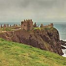 Dunnottar Castle Scotland by AnnDixon