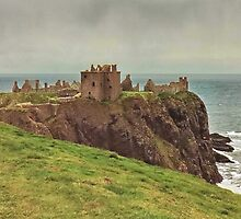 Dunnottar Castle Scotland by AnnDixon