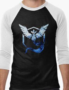 Team Mystic Pokemon Go Elements Men's Baseball ¾ T-Shirt