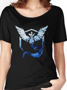 Team Mystic Pokemon Go Elements Women's Relaxed Fit T-Shirt