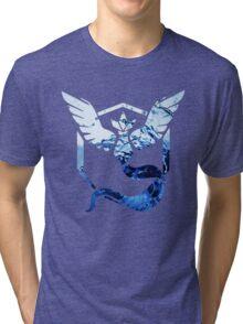 Team Mystic Pokemon Go Elements Tri-blend T-Shirt