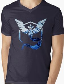Team Mystic Pokemon Go Elements Mens V-Neck T-Shirt