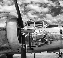 B-25 Mitchell Bomber - WWII, Yankee Warrior by Mike Koenig