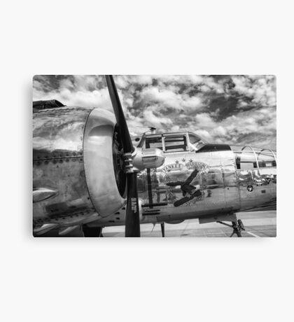 B-25 Mitchell Bomber - WWII, Yankee Warrior Canvas Print