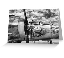 B-25 Mitchell Bomber - WWII, Yankee Warrior Greeting Card