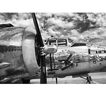 B-25 Mitchell Bomber - WWII, Yankee Warrior Photographic Print