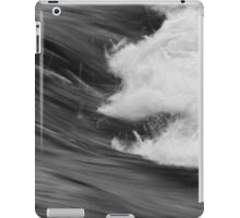 Smooth turbulence iPad Case/Skin