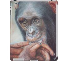 Pondering Chimp iPad Case/Skin