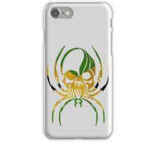 JAMAICA SPIDER SKULL FLAG  iPhone Case/Skin