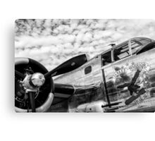 B-25 Mitchell Bomber (WWII) Yankee Warrior Canvas Print